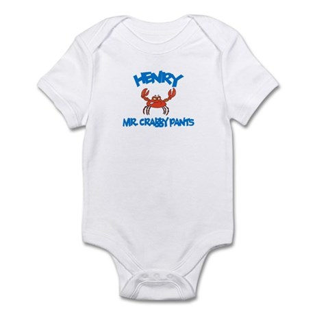 Henry - Mr. Crabby Pants Infant Bodysuit