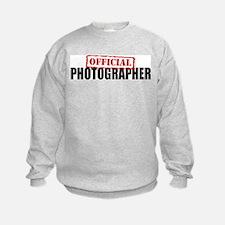 Official Photographer Sweatshirt