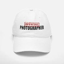 Official Photographer Baseball Baseball Cap