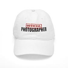 Official Photographer Baseball Cap