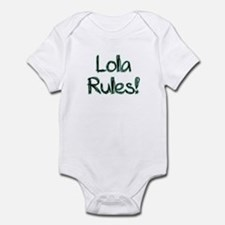 Lola Rules! Infant Bodysuit