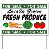 Produce for sale signs Yard Signs