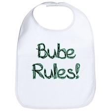 Bube Rules! Baby Bib