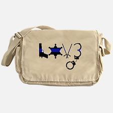 Cute Sheriffs wife Messenger Bag