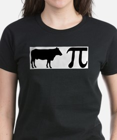 Cow Pi (pie) Ash Grey T-Shirt