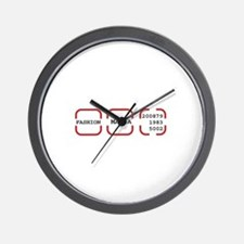 fashion mania Wall Clock