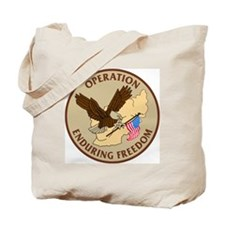 Operation Enduring Freedom Army MP Tote Bag