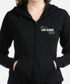 Unique George Women's Zip Hoodie