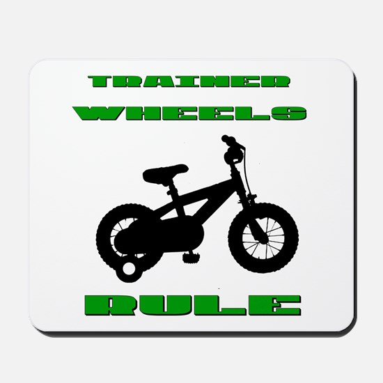 Trainer Wheels Bicycle Mousepad