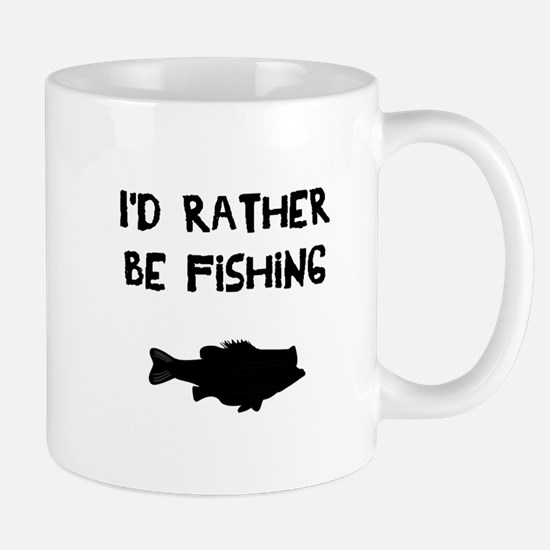 I'd rather be fishing Mugs