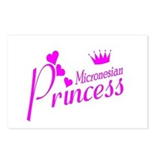 Micronesian Princess Postcards (Package of 8)