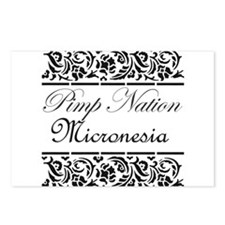 Pimp Nation Micronesia Postcards (Package of 8)