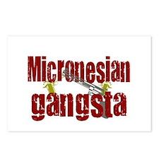 Micronesian Gangsta Postcards (Package of 8)