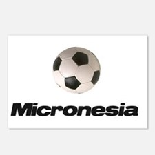 Micronesia Soccer Postcards (Package of 8)