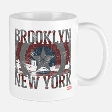 Captain America Brooklyn Distressed Mug