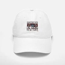 Captain America Brooklyn Distressed Baseball Baseball Cap