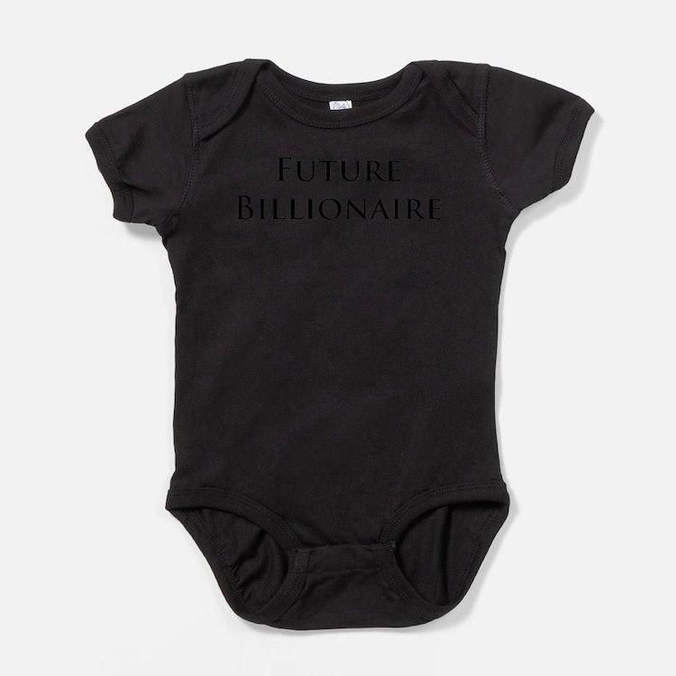 Cute Billionaire Baby Bodysuit