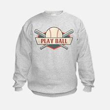 Play Ball Baseball Sweatshirt
