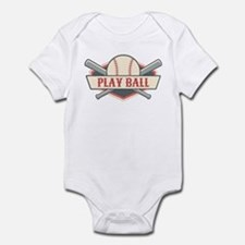 Play Ball Baseball Infant Bodysuit