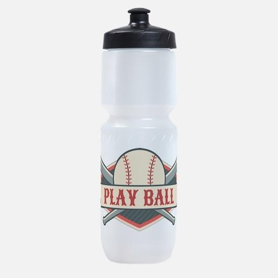 Play Ball Baseball Sports Bottle