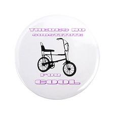 "Chopper Bicycle 3.5"" Button"