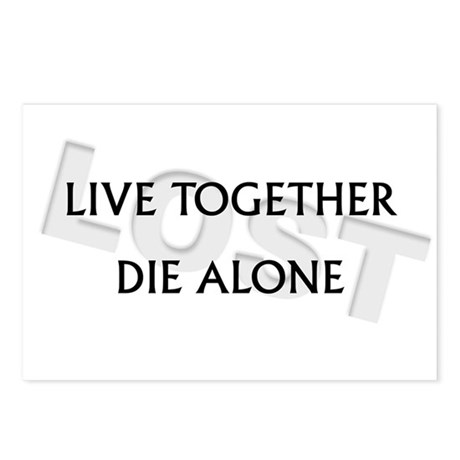 Live Together, Die Alone Postcards (Package of 8)