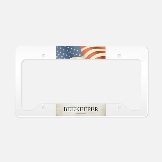 Philadelphia Beekeeper License Plate Holder
