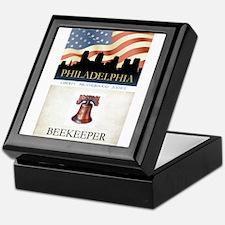 Philadelphia Beekeeper Keepsake Box