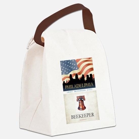 Philadelphia Beekeeper Canvas Lunch Bag