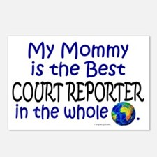 Best Court Reporter In The World (Mommy) Postcards
