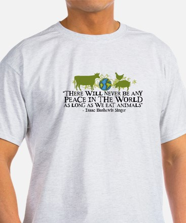 Never Be Peace - Wide T-Shirt