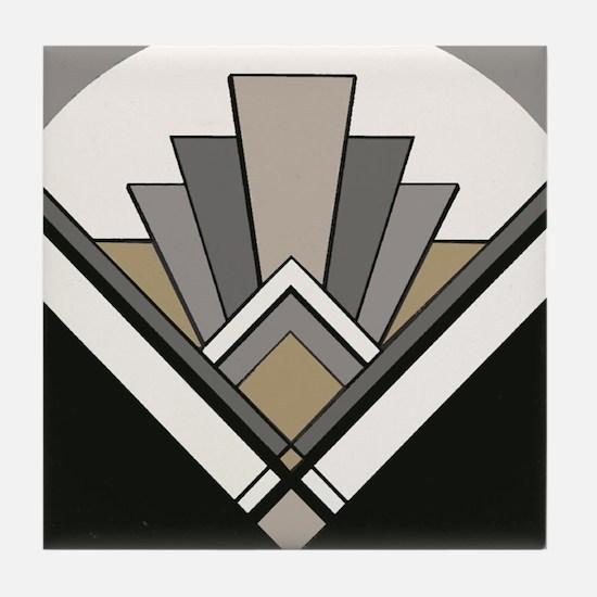 Art Deco Tile Coaster