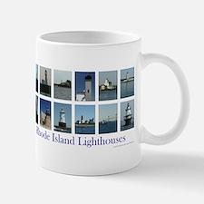 Rhode Island Lighthouses Mugs