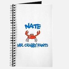 Nate - Mr. Crabby Pants Journal