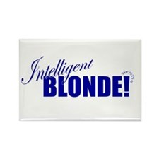Cute Blonde girl Rectangle Magnet