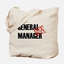 Off Duty General Manager Tote Bag