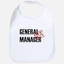 Off Duty General Manager Bib