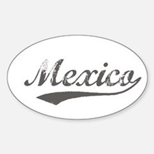 Flanger Mexico Oval Decal
