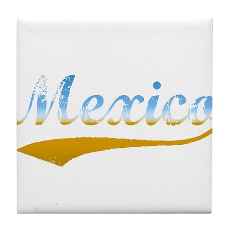 Beach Mexico Tile Coaster