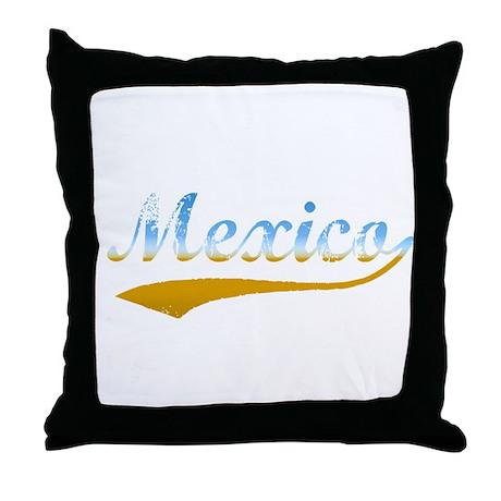 Beach Mexico Throw Pillow