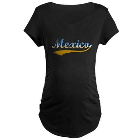 Beach Mexico Maternity Dark T-Shirt