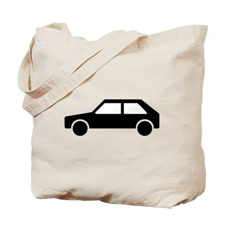 Retro Car Tote Bag