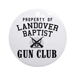 Gun Club Ornament (Round)