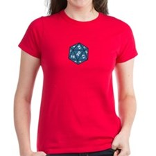 Women's 20 sided die T-Shirt