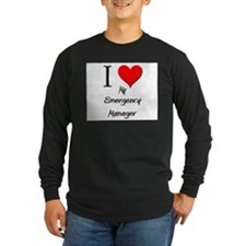 I Love My Emergency Manager T
