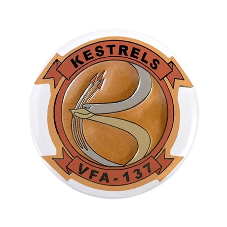 "VFA 137 Kestrels 3.5"" Button"