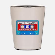 Mini-Komix Mix Tape Shot Glass
