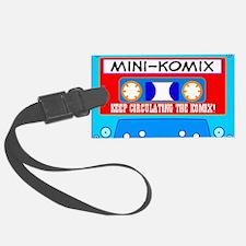 Mini-Komix Mix Tape Luggage Tag