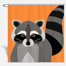 Raccoon Mischief Shower Curtain