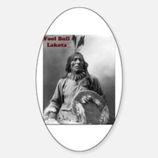 Fool Bull - Lakota Oval Decal